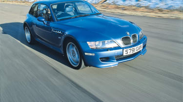 BMW M coupe buying guide - front tracking