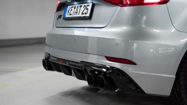 Abt tuned Audi RS3 exhaust