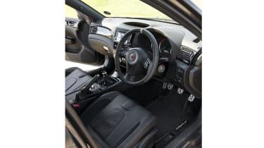 Subaru Impreza Cosworth CS400 cabin