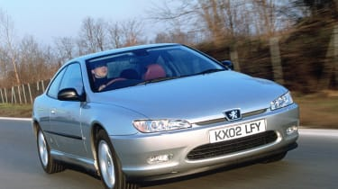 Peugeot 406 Coupe – front