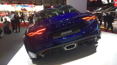 Alpine A110 ledgende – rear