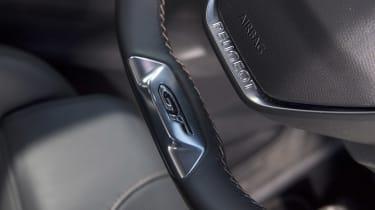 Peugeot 3008 GT steering wheel