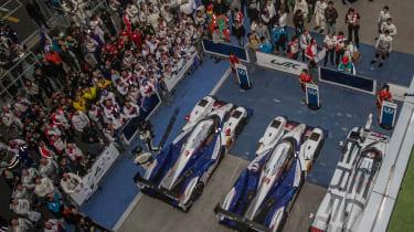 FIA WEC Shanghai Toyota paddock