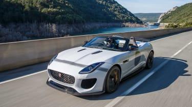 Jaguar F-Type Project 7 - white