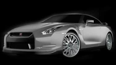OZ Racing Nissan GT-R