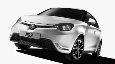 MG3 supermini front grille