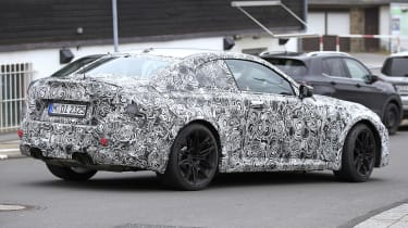2022 BMW M2 spied road rear