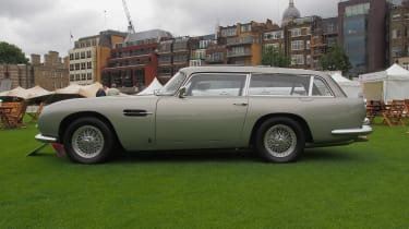 City Concours - Aston Martin DB5 Shooting Brake profile