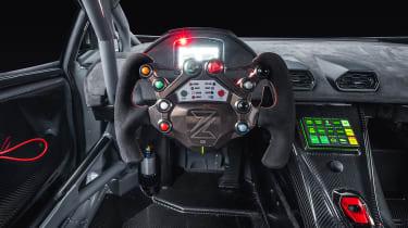 Zyrus Engineering Lamborghini Huracán LP1200 steering wheel