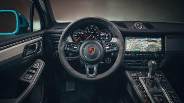 Porsche Macan – dashbaord