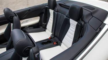 Mercedes-Benz E400 4Matic Cabriolet - Rear seats