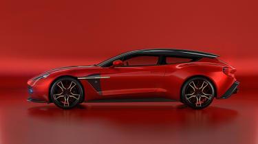 Aston Martin Vanquish Zagato Shooting Brake - profile