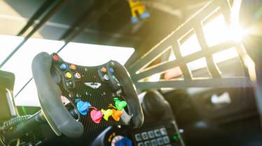 Aston Martin Racing Vantage GTE - cabin