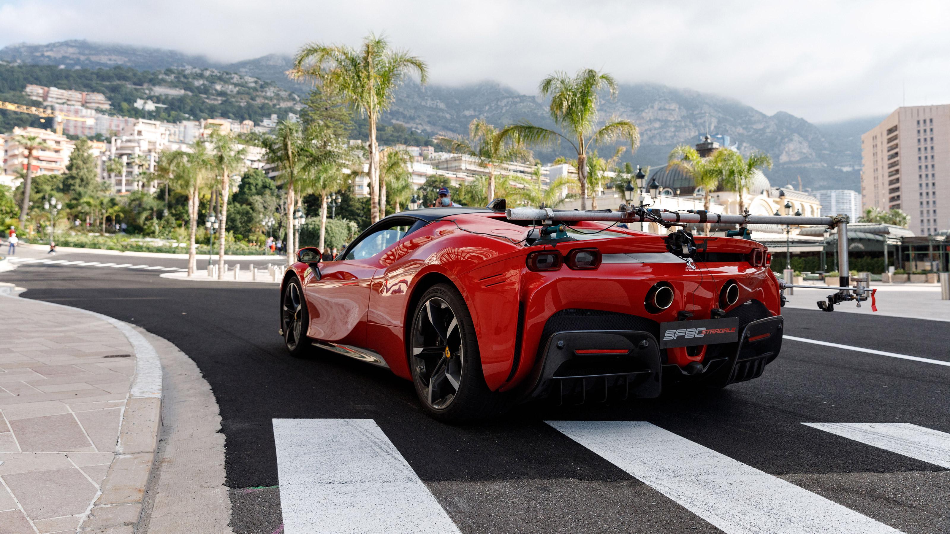 986bhp Ferrari Sf90 Stradale Stars In C Etait Un Rendezvous Recreation Evo