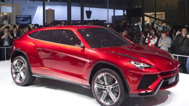 Lamborghini Urus SUV concept red