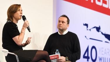 Claire Williams talks