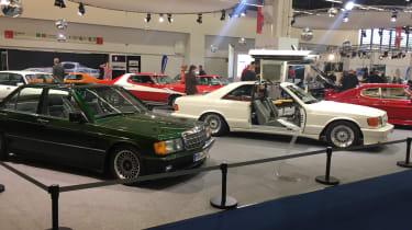 SGS Mercedes-Benz 190E St. Tropez and 500 SEC Gullwing - 2017 Frankfurt motor show