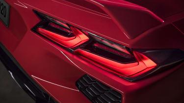 2020 Chevrolet Corvette C8 rear lights