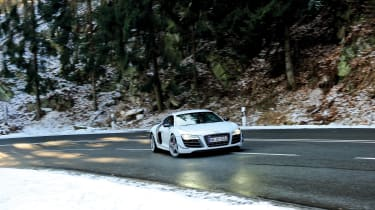 Audi R8 GT in Germany - turning
