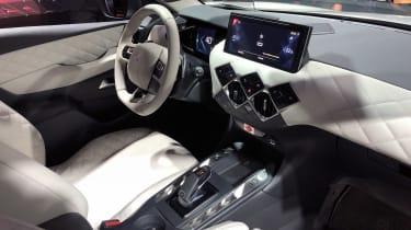 Paris motor show 2018: DS3 Crossback interior diseased