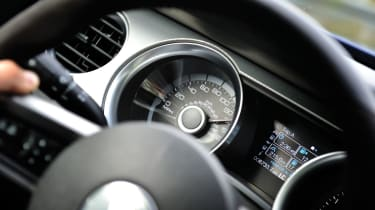Shelby GT500 speedo