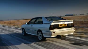 Audi Quattro - rear