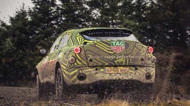 Aston Martin DBX prototype - rear quarter