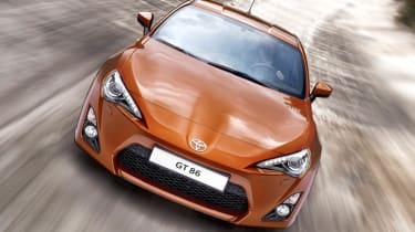 Toyota GT 86 rear-drive coupe