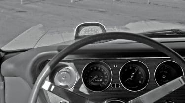 Pontiac GTO hood tach