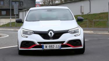 Renault Megane RS Trophy-R spied - nose