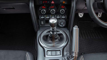 Toyota GT86 Orange Edition centre console