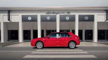 Lancia Heritage Parts – Delta side