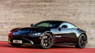 Aston Martin Vantage - black static
