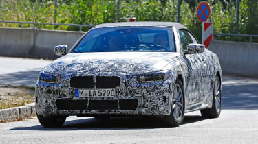 BMW 4-series spy (2019) - nose
