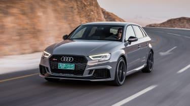 Audi RS3 Sportback Grey front 3