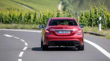 Mercedes-AMG C43 2018 facelift - rear