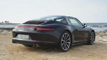 Porsche 911 Targa 4S rear