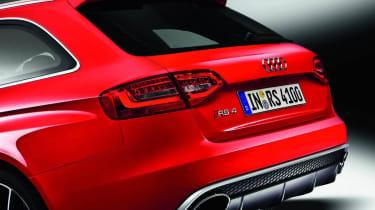 2012 Audi RS4 Avant rear diffuser