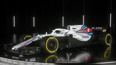 Williams F1 car top