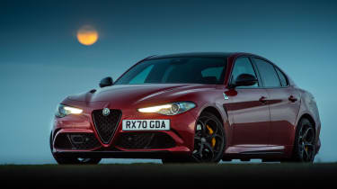 Alfa Romeo Giulia Quadrifoglio review LCI – static