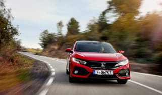 Honda Civic review - front