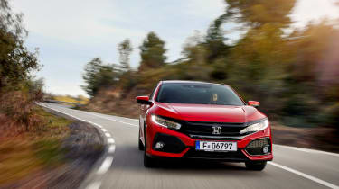 Honda Civic review - front