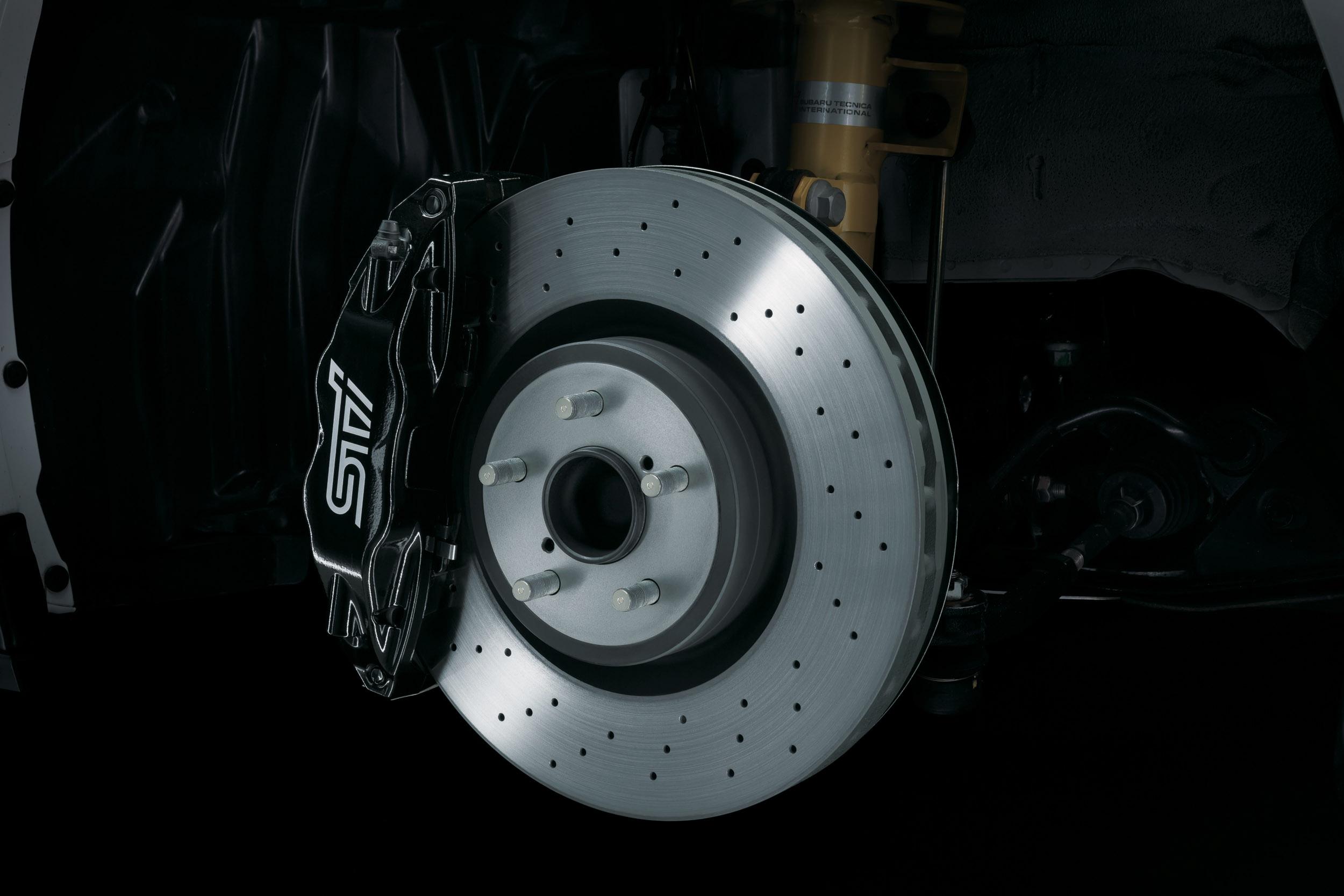 Subaru BRZ tS STI - in pictures   Evo