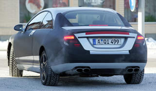 Mercedes CL63 spy image