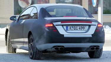 Mercedes CL63 spy image