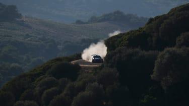 WRC Rally Sardinia - distance