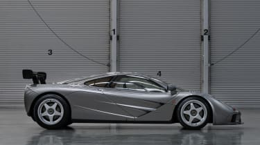 McLaren F1 LM Specification side