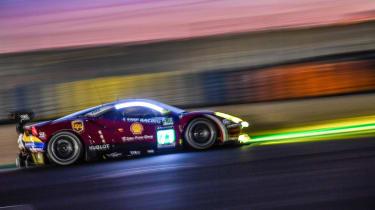 Le Mans 2017 - Ferrari profile night2