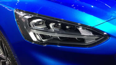 Ford Focus launch - headlights