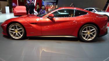 Ferrari F12 Berlinetta side profile